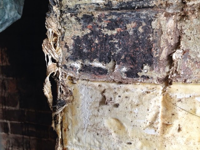 renovating an old stone cottage paint removal from old bricks