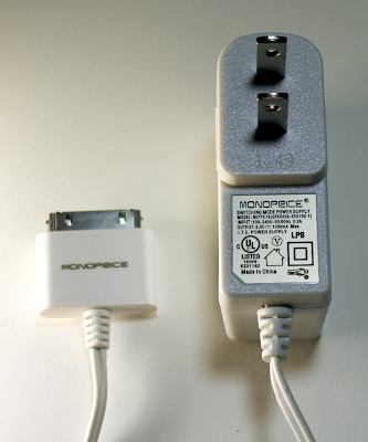 Monoprice USB charger
