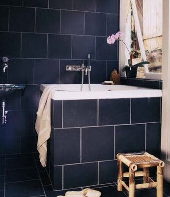 dark blue bathroom tiles appletree staging you with opp 18040