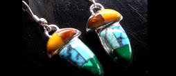 Stone Mosaic Earrings ***   ED-3-009