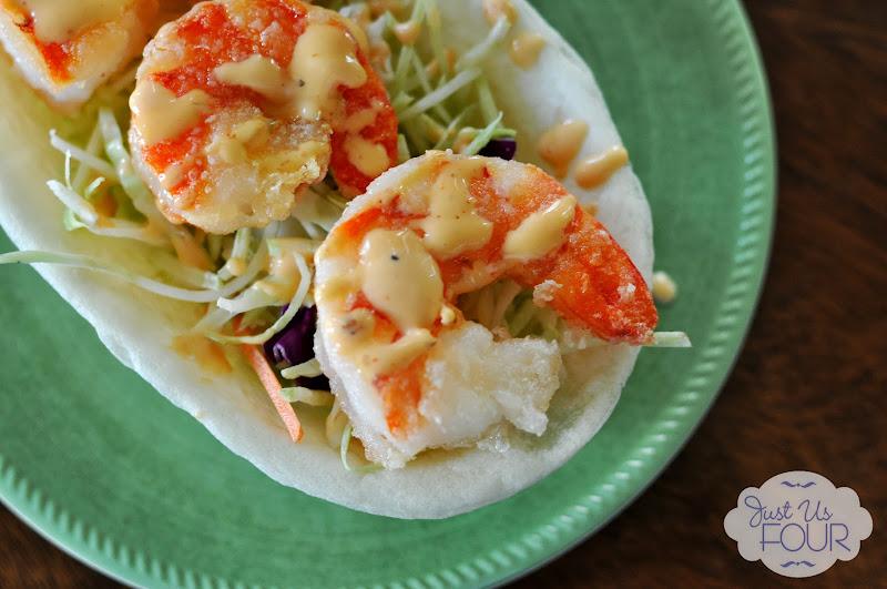 Bonefish Grill Copycat Bang Bang Shrimp Taco Boats