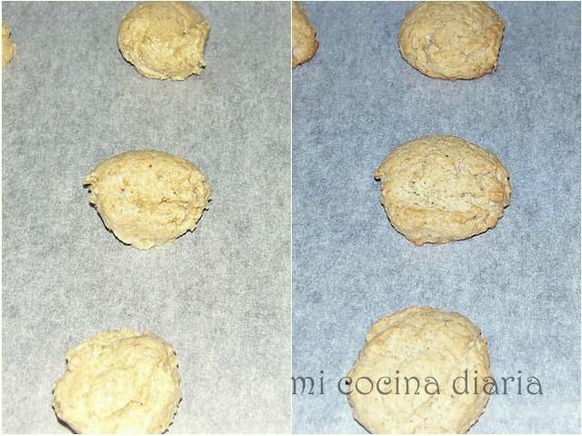 Galletas de avena y cacahuetes (Овсяное печенье с арахисом)