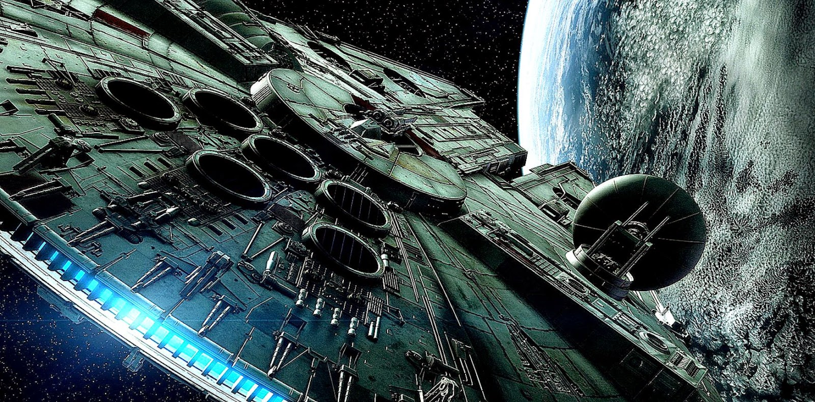 すごい大きい宇宙船