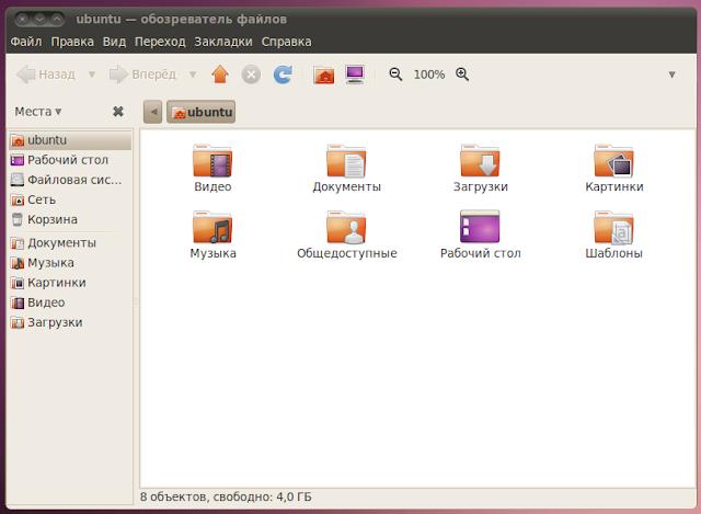 Директории в Ubuntu