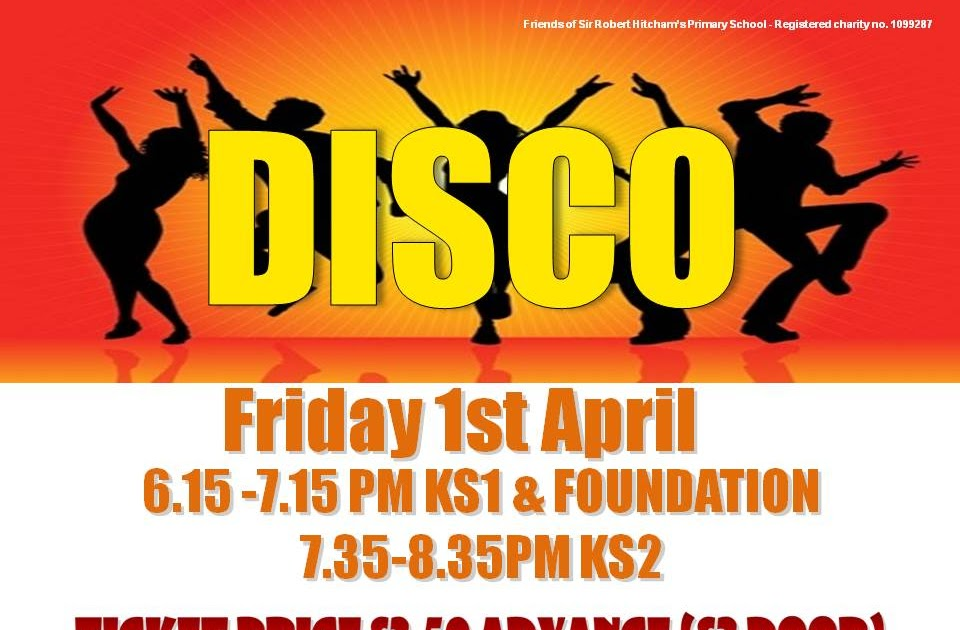 Hitcham's Blog: End of Term Disco Poster