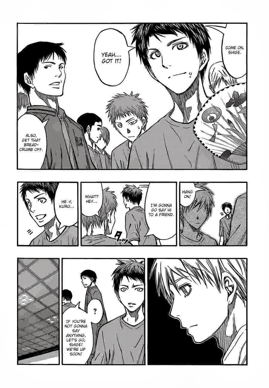 Kuroko no Basket Manga Chapter 225 - Image 04