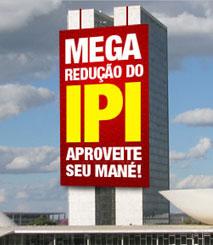 coluna zero, meio ambiente, consumo consciente, sustentabilidade, zero utopia, IPI, imposto, greenwashing, política, governo federal, brasil