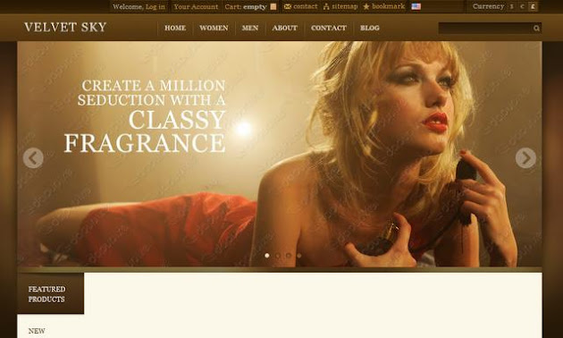Velvet Sky WordPress Theme