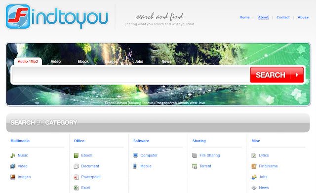 Findtoyou : Search engine hebat hasil karya anak bangsa!