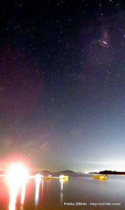 UFO spotted on Phuket sky