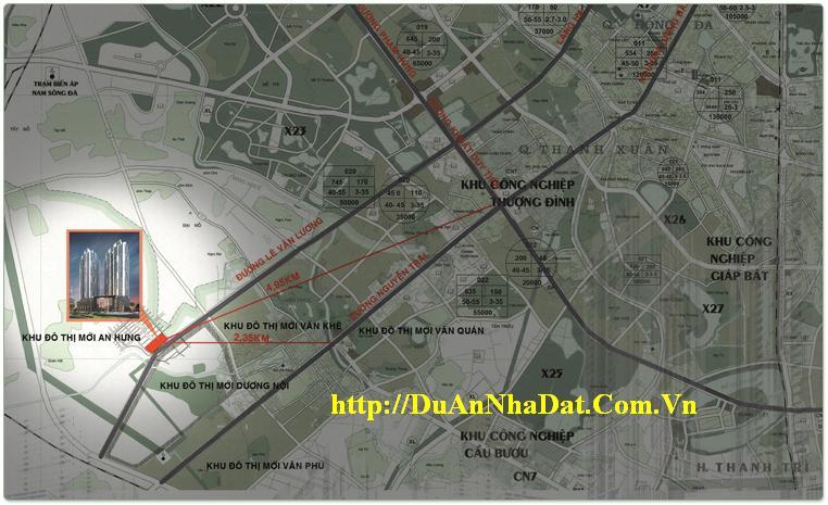 Khu đô thị mới An Hưng quận Hà Đông