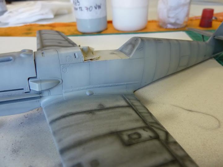 Bf-109 E-3 Tamiya 1/48 - Reforma pintura P1020470