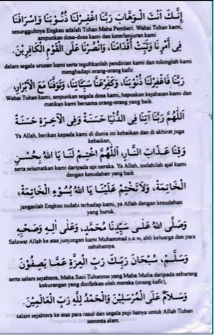 Sham Nor Azira Himpunan Doa Doa Selepas Solat