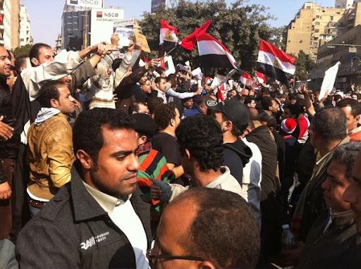 Egyptian Revolution شريف الحكيم Pro.vs.out