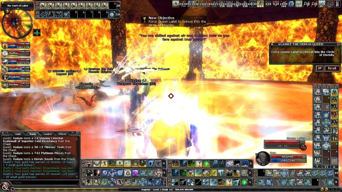 ADQ boss fight