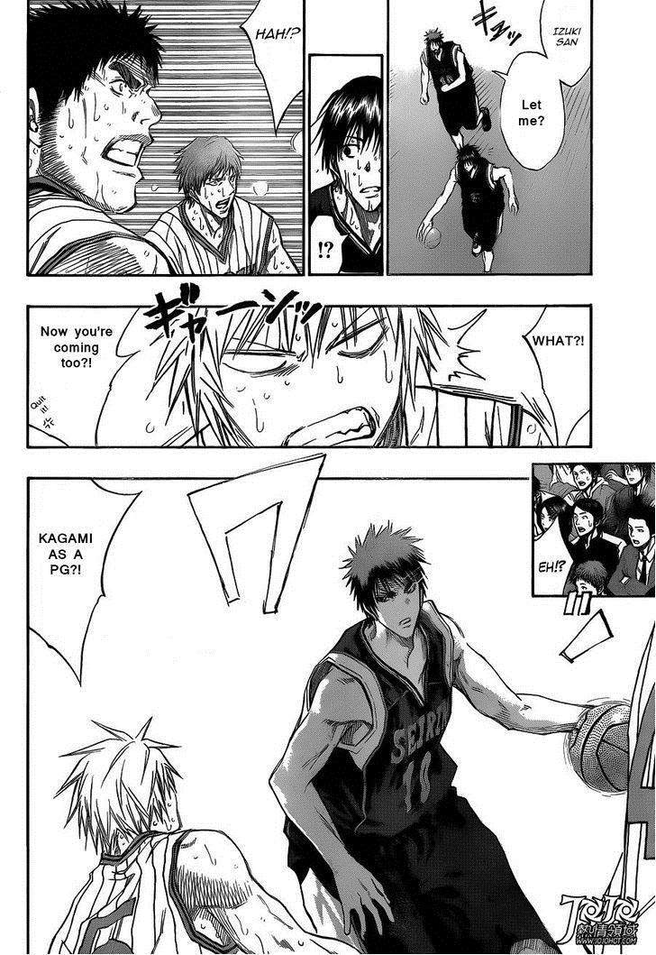 Kuroko no Basket Manga Chapter 166 - Image 12