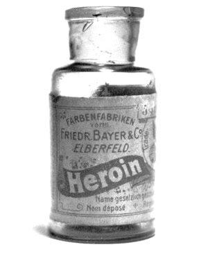 botol heroin,bayer-heroin