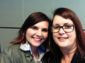 Kelly Burstow, left, blogger at Be A Fun Mum blog
