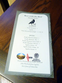 Raven and Rose: Beer with the Bird with Logsdon, Double Mountain, and Steve's Cheese