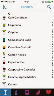 lush cocktails application ios