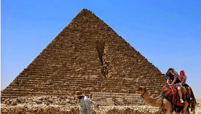 Heritage: Menkaure Pyramid opened to public