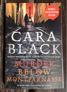 french village diaries book worm Wednesday Cara Black Murder Below Montparnasse Paris review