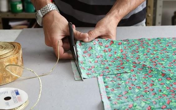 artesanato com tecido