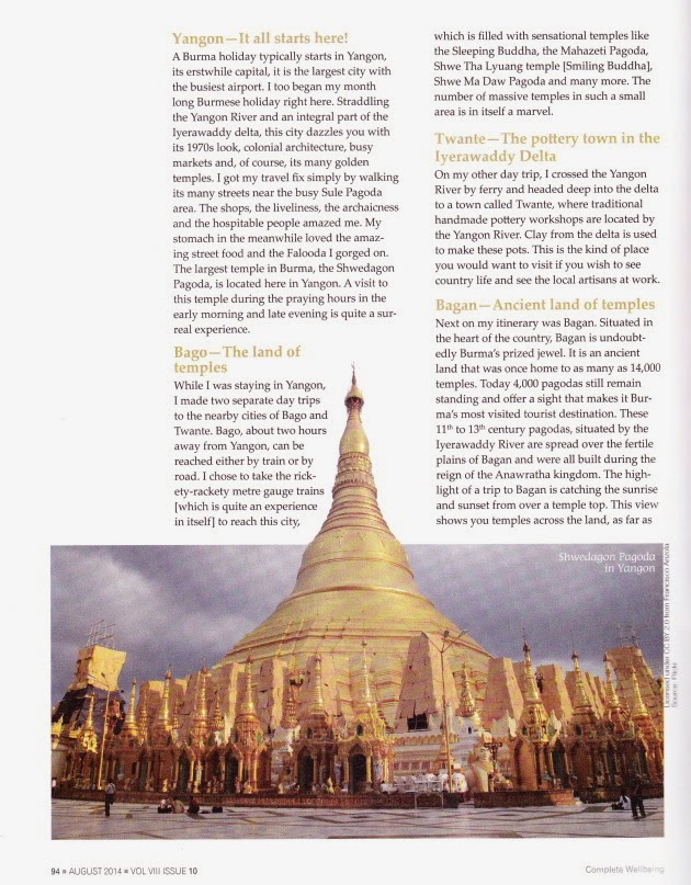 The Land of Temples - Complete Well Being Magazine - August Issue - Page 94