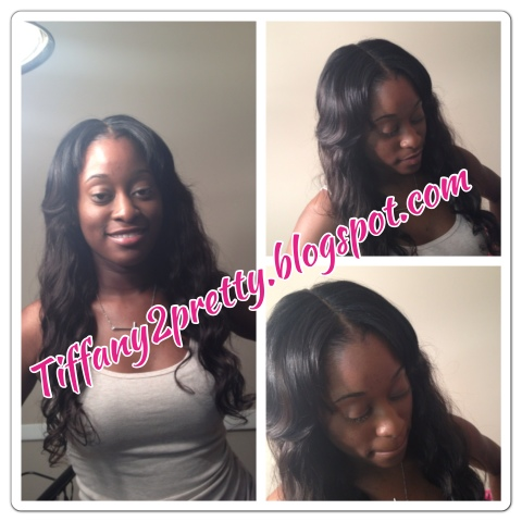 Tiffany2prettyy: LACE CLOSURE SEW IN - Glue In Hairstyles