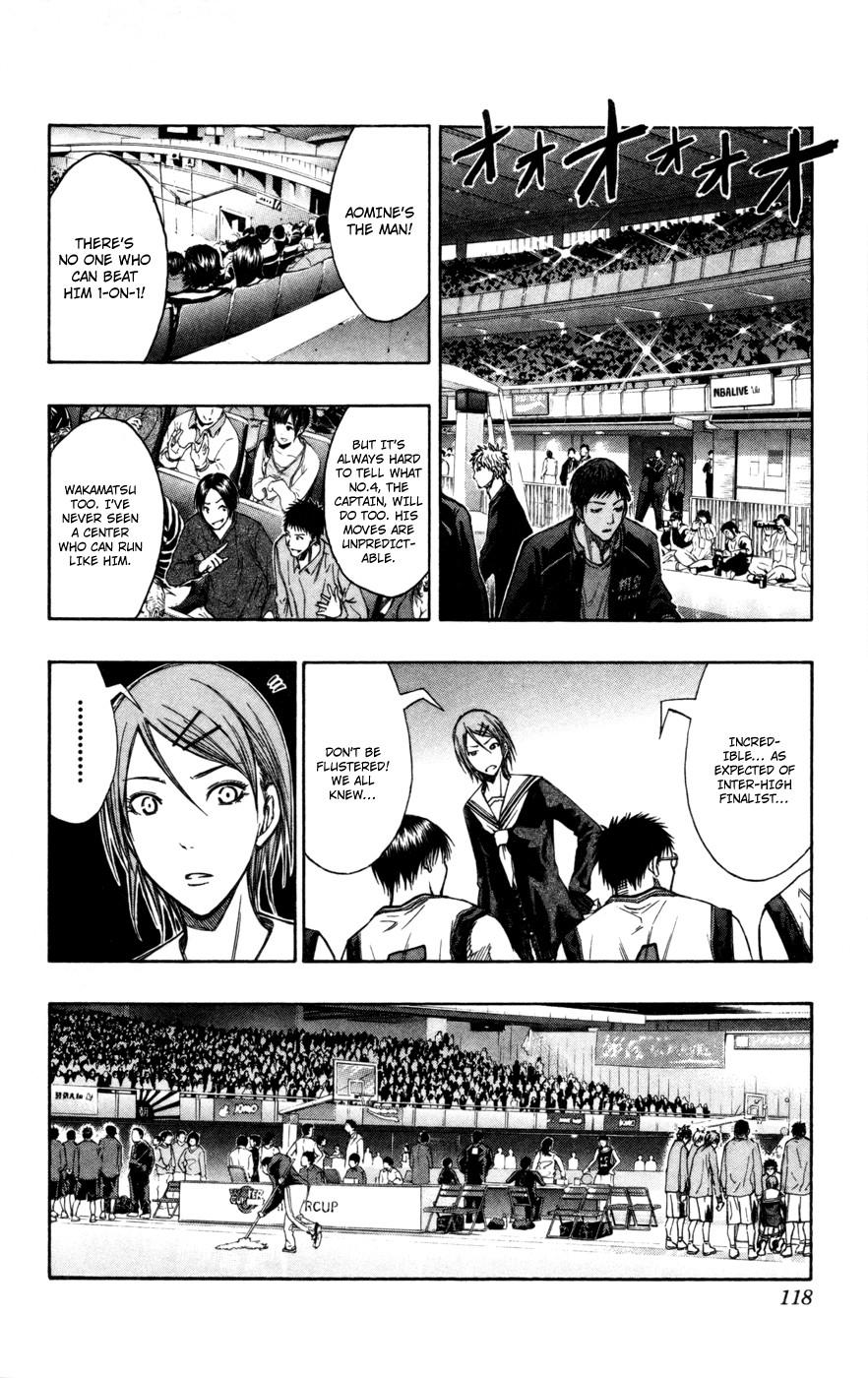 Kuroko no Basket Manga Chapter 114 - Image 12