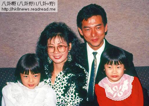 惠天賜與第一任前妻陳貝蒂關係甚差。二人離婚後,大女頌玲(右)跟母,小女鎧玲(左)則由姑姐惠英紅湊大。