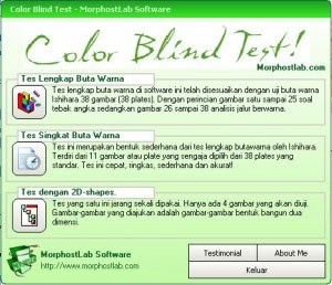 Software For The Practical Color Blind Test Software Tes
