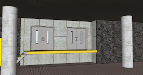 loading docks with freight elevators