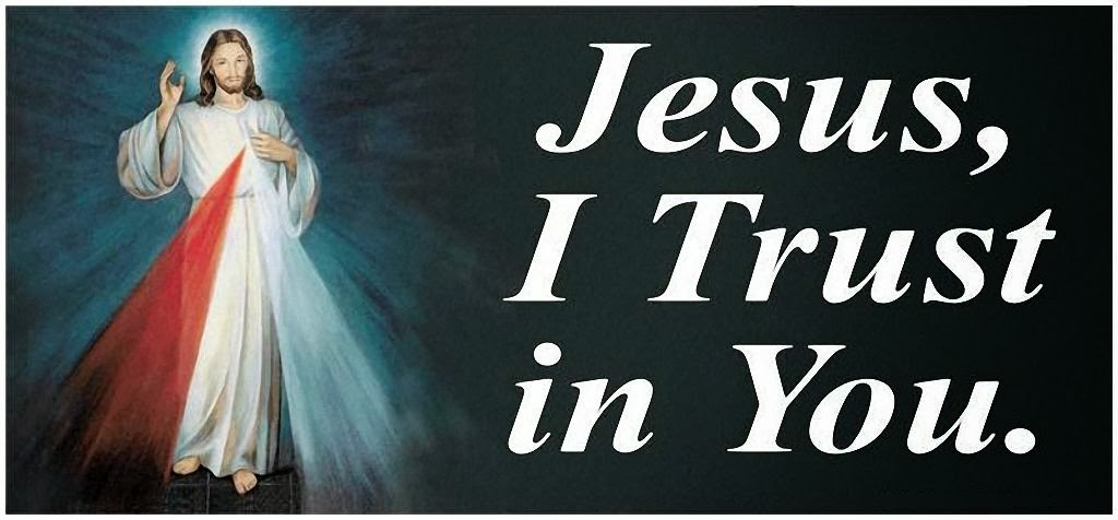 Jesus, I Trust in You!