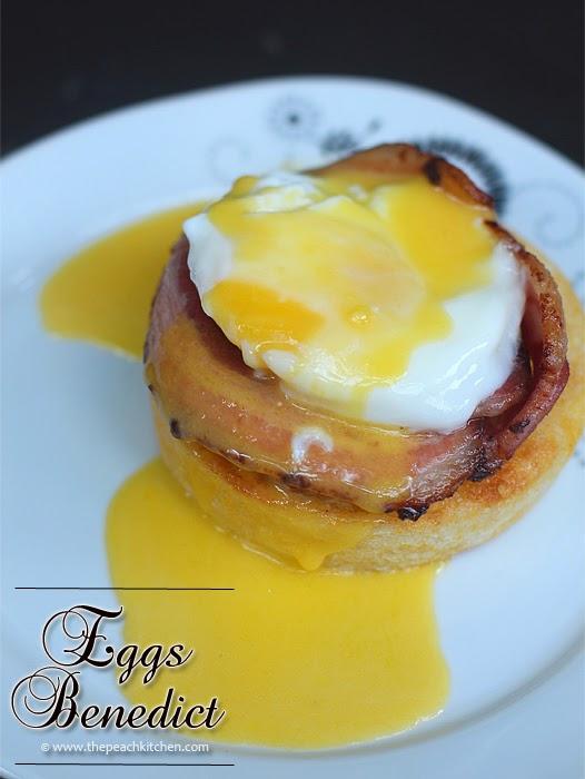 Eggs Benedict | www.thepeachkitchen.com