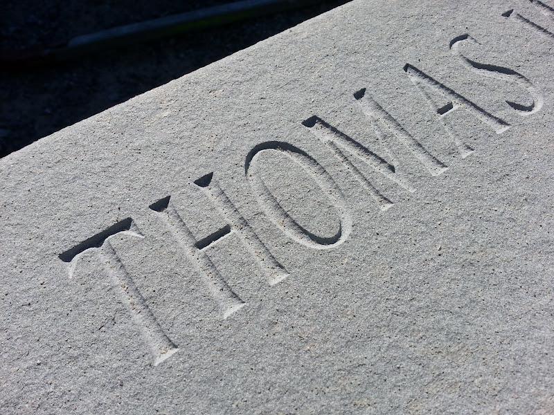 monument carving - veterans memorial