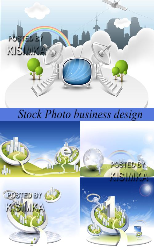 Stock Photo business design