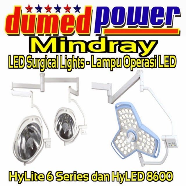 Lampu-Operasi-LED-Surgical-Lights-HyLED-8600-HyLite-6-Series-Mindray