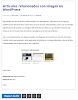 Numeración de páginas en WordPress