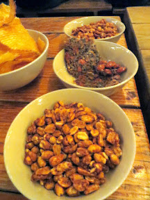 Brewstillery Festival preview, StormBreaker showed some of the snacks available such as spiced peanuts, almond and seed brittle, and chips