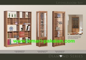 Gambar Lemari Display Murah Diamond