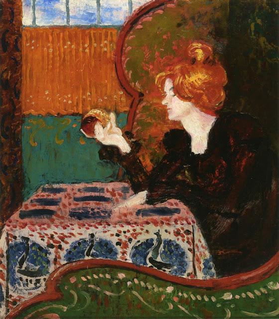 Georges Lemmen - Woman in Profile