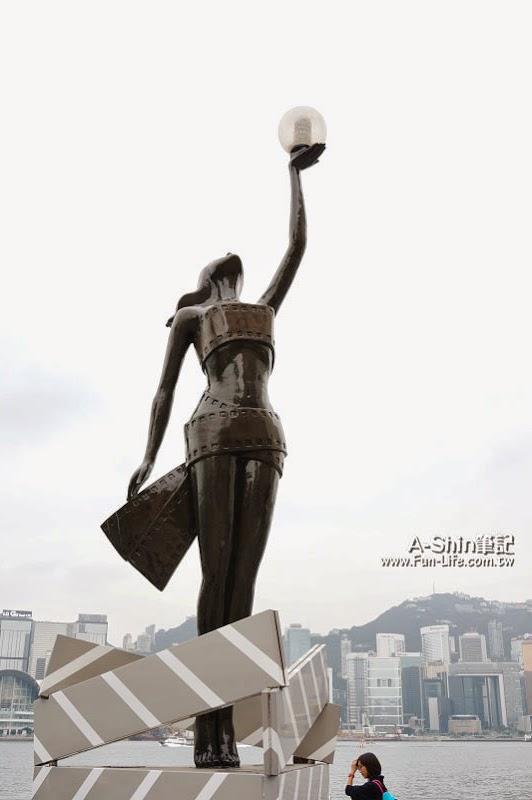 香港尖沙咀景點,星光大道-7
