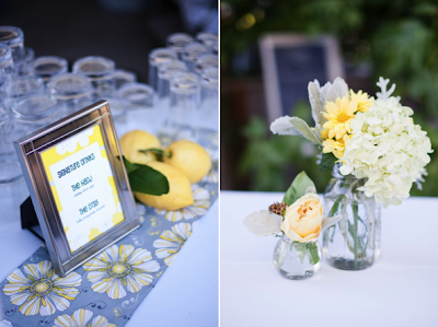 semplicemente perfetto wedding vintage giallo