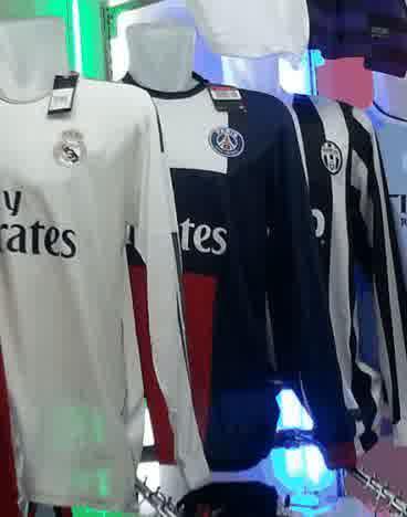 Jual Jersey PSG Lengan Panjang Home 2014