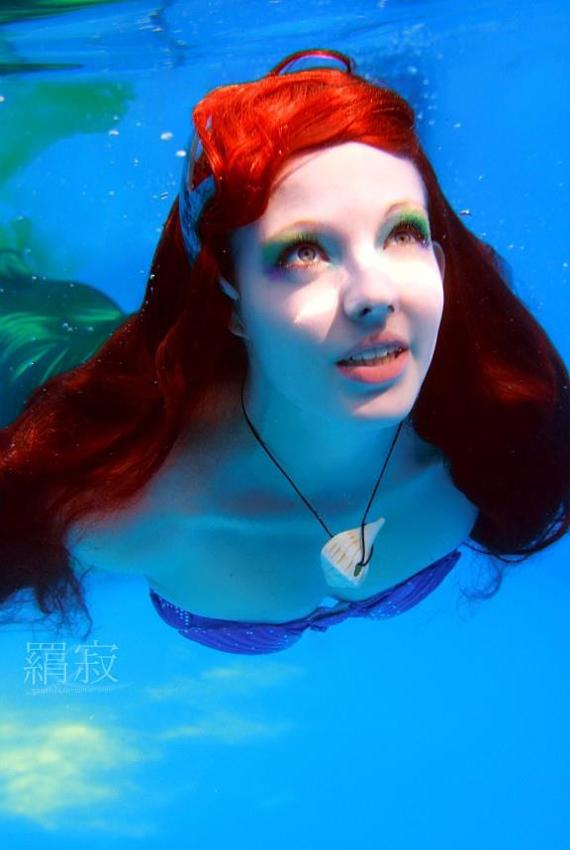 Nàng công chúa Ariel đáng yêu qua từng khoảnh khắc