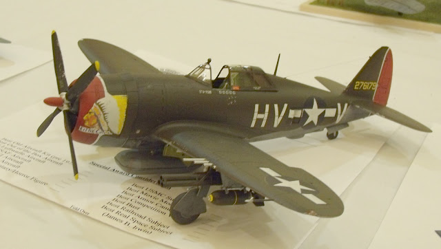 "P-47 Thunderbolt ""razorback"" model photo"