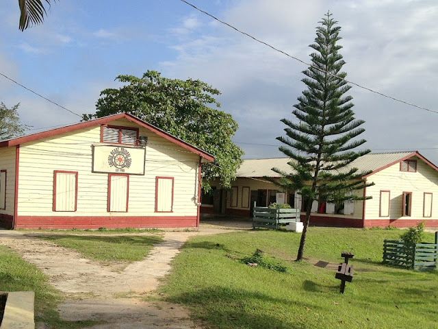 Sacred Heart School grounds, Belize