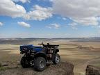 ATV parked on Little Cedar Mountain