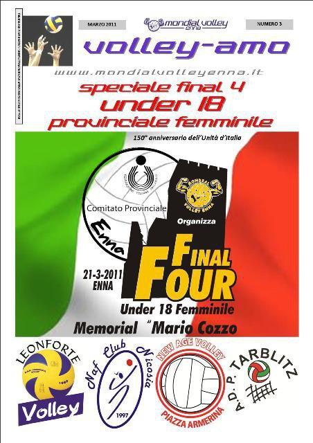 Volley final four provinciale u18 la polisportiva for Miceli arredamenti nissoria